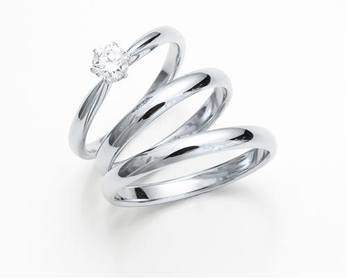 ラウンドタイプ婚約指輪