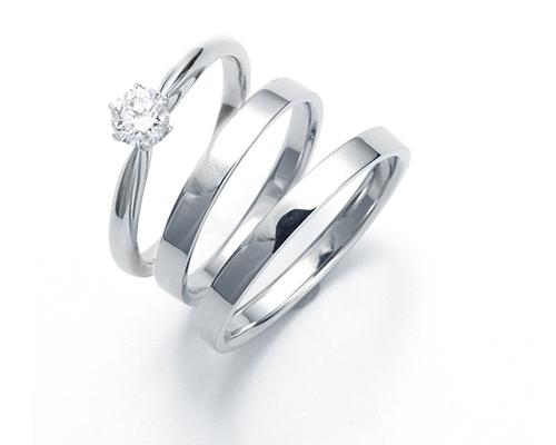 フラットタイプ婚約指輪